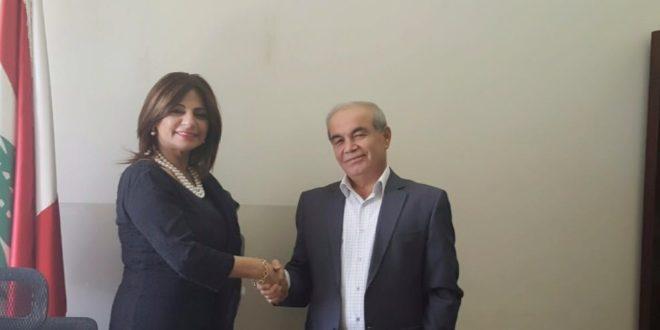 مجلس المرأة العربية تابع انشاء قسم خاص بالمرأة في كل بلدية