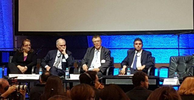 الحواط شارك في مؤتمر الحوار العربي الأوروبي في باريس