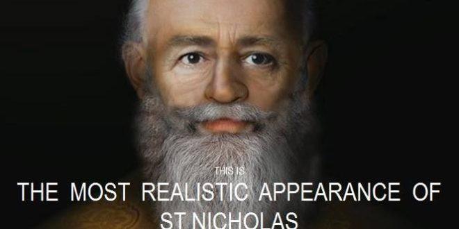"""وجه """"بابا نويل"""" الحقيقي… القديس نيقولاوس"""