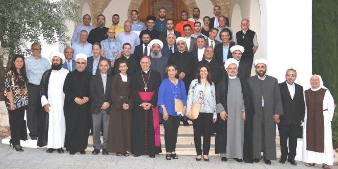 معهد المواطنة في أديان خرج طلابا من برنامج التنشئة على الأديان والشأن العام