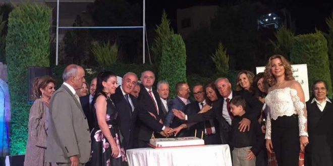 لابورا احتفلت بالعيد الخامس لانطلاق عملها في منطقة البقاع وكرمت وجوهاً في القطاع العام وشركات متعاونة