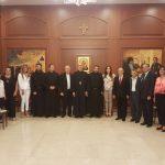 """""""أورا"""" في زيارة تهنئة للرئيس العام الجديد للرهبنة المارونية المريمية الأباتي مارون الشدياق: لتعزيز أواصر التعاون و توحيد المسيحيين في مجال الحضور الفعّال في الدولة"""