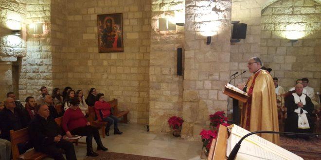 قداديس احتفالية بعيد الميلاد في كنائس منطقة الشوف وأديرتها