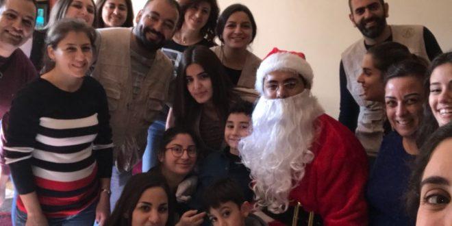 جمعية روح زورن ببيتن وزعت المساعدات على المحتاجين في بيروت