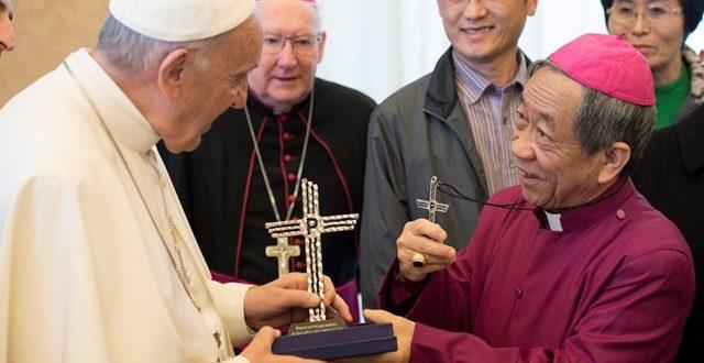 البابا فرنسيس يستقبل وفدا من المجلس الوطني للكنائس في تايوان