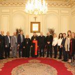 اتحاد أورا في زيارة إلى بكركي