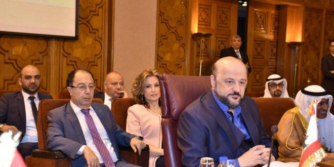 الرياشي من مجلس وزراء الاعلام العرب في القاهرة: نحن العرب لم نزرع شيئا لنحصد شيئا