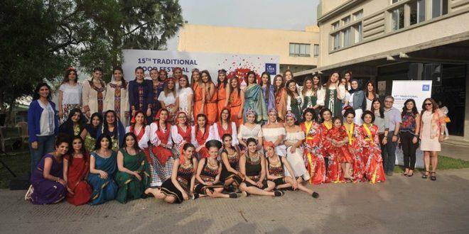 المهرجان الخامس عشر للمطبخ التقليدي في جامعة الروح القدس