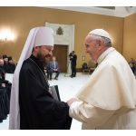 البابا فرنسيس يستقبل وفدًا من بطريركيّة موسكو الأرثوذكسيّة