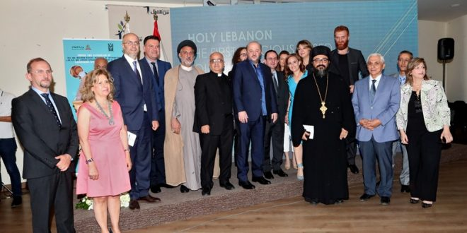 نور حداد أطلقت أول تطبيق الكتروني للسياحة الدينية الرياشي: قدمت لبنان بحلة الإيمان كيدانيان: يمكننا التفوق على كل دول المنطقة