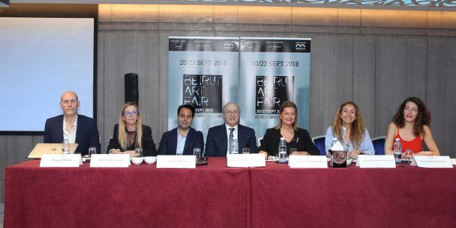 الإعلان عن الدورة التاسعة لمعرض بيروت آرت فير الخوري: النهوض بالشأن الثقافي يعود بالفائدة على الإقتصاد