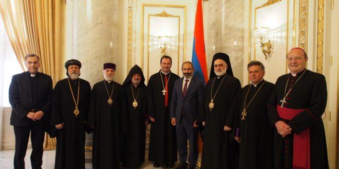وفد مجلس رؤساء الكنائس الشرقية في أوستراليا واصل زيارته لأرمينيا والتقى رئيس وزرائها وزار السفارة اللبنانية بيريفان