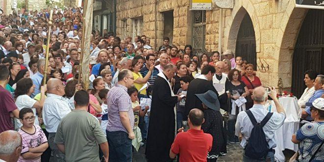 الاحتفالات بعيد القديس شربل في بقاكفرا