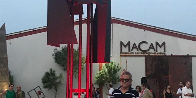منحوتة جديدة لبرنارد غانم في متحف مقام