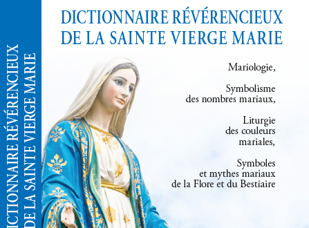 معجم تكريمي للسيدة العذراء بالفرنسية لجان صدقة