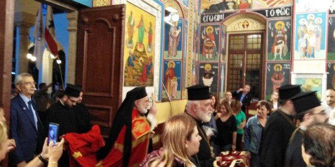 الأشرفية أحيت عيد شفيعها القديس ديمتريوس