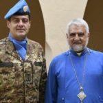 قائد القطاع الغربي في اليونيفيل زار مطراني صور