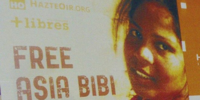 المحكمة العليا في باكستان تبرّىء المسيحيّة آسيا بيبي المحكومة بالإعدام بتهمة التّجديف
