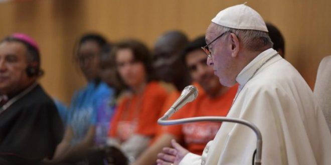 البابا فرنسيس يلتقي أعضاء المجلس الوطني لهيئة باكس كريستي