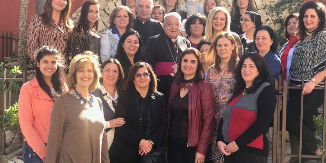البرنامج السنوي للجنة المرأة في أبرشية طرابلس