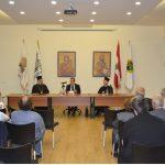 توقيع كتاب هلك شعبي جهالة للشماس الياس بركات في البلمند