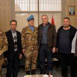 قائد القطاع الغربي لليونيفيل زار بلدية رميش
