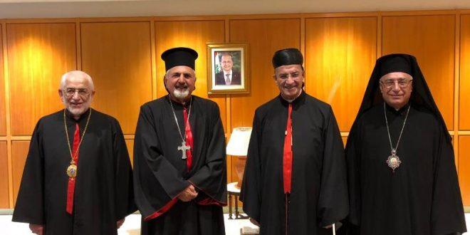 البطاركة الكاثوليك غادروا إلى بغداد