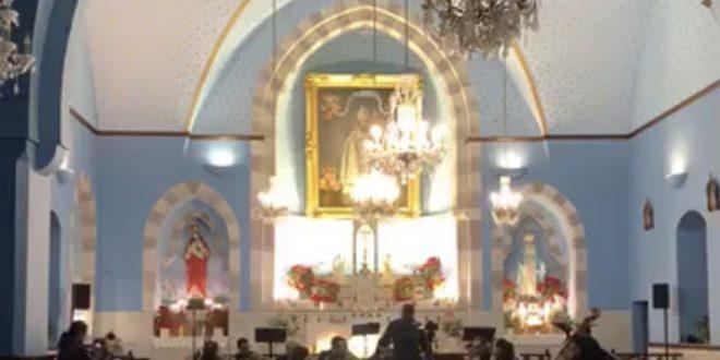قداس احتفالي في كاتدرائية مار زخيا في عجلتون