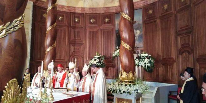 القسيس احتفل بقداس شكر في كاتدرائية مار جرجس بحضور الراعي وسبيتيريمطر: نصلي له لينجح بالرسالة النبيلة التي ألقيت على عاتقه