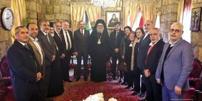 يازجي استقبل ايوب: لمزيد من التعاون مع الجامعة اللبنانية لإنجاز مشاريع مشتركة مع البلمند