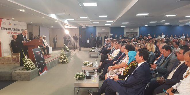 المؤتمر ال30 للاتحاد الدولي للصحافيين في تونس ناقش مواضيع تتعلق بالحريات وميثاق الشرف الاعلامي وانتخب يونس مجاهد رئيسا له