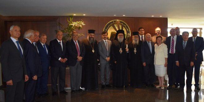 يوحنا العاشر ترأس اجتماع مجلس أمناء البلمند: الجامعة أضحت صرحا وطنيا في لبنان والعالم