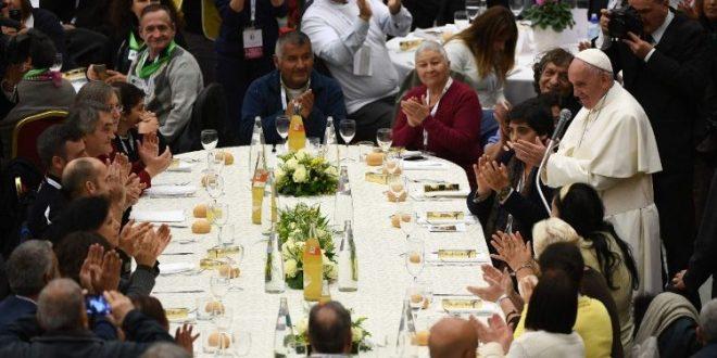 رسالة البابا فرنسيس بمناسبة اليوم العالمي للفقراء ٢٠١۹