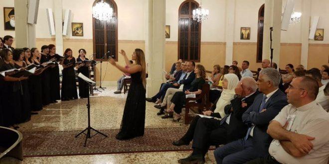 جامعة القديس يوسف أحيت أمسية موسيقية في كاتدرائية مار الياس في صيدا