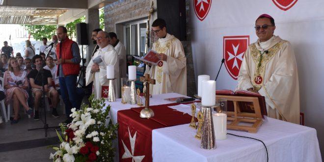السفير البابوي ترأس قداسا في مركز فرسان مالطا في شبروح: تطوع الشباب لخدمة ذوي الإعاقات يبني السلام الحقيقي