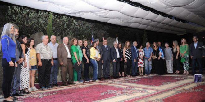 نادي الشرق لحوار الحضارات كرم مبدعين من لبنان في متحف جبران في بشري