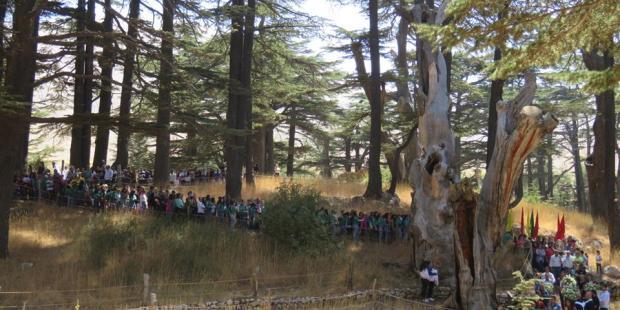 مسيرة في عيد الشهداء الرهبان الموارنة الـ ٣٥٠…ساروا ١٠٠ كم من دير مار مارون العاصي إلى وادي قنوبين