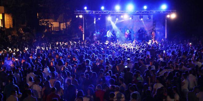 بلدية حدشيت احيت مهرجانها السنوي بمناسبة عيد شفيع البلدة مار رومانوس