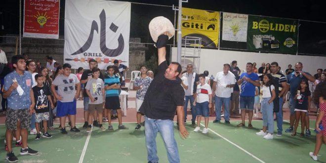 مهرجان فني تراثي رياضي في قلحات