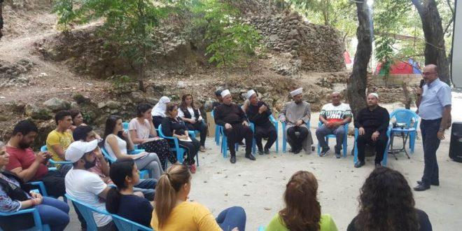 منتدى الأديان والإنسانية نظم المخيم الكشفي الاول لحماية السلم الأهلي والمصالحة