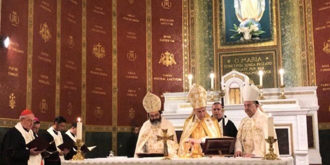 الراعي ترأس قداسا لمناسبة افتتاح دير مار شربل في روما: سيكون مركز اشعاع روحي تغنيه روحانية القديس