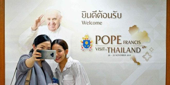فرح وانتظار لزيارة البابا فرنسيس المقبلة إلى تايلاند