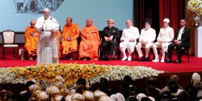 خطاب البابا فرنسيس إلى القادة الدينيين في تايلاند