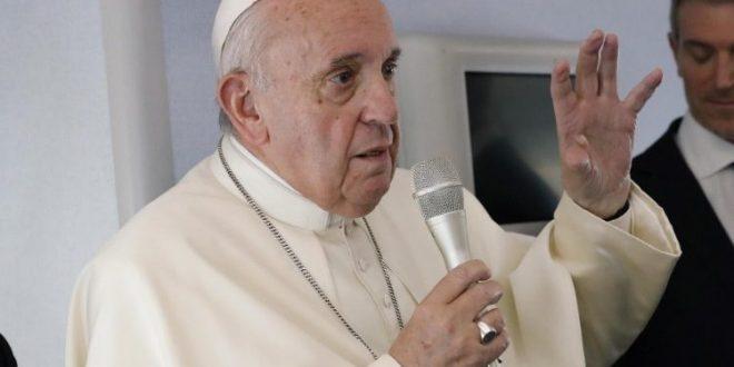 البابا يؤكد أن استخدام السلاح النووي وحيازته أمر لا أخلاقي