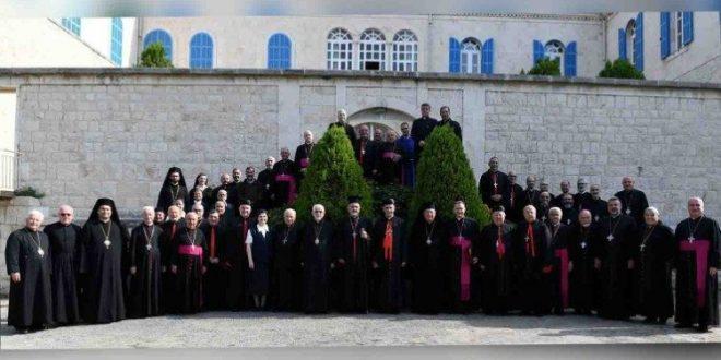 البيان الختامي للدورة السنوية العادية الثالثة والخمسين لمجلس البطاركة والأساقفة الكاثوليك في لبنان