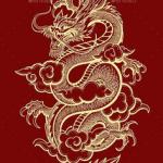 عين التنين - تاريخ الرسم الصيني
