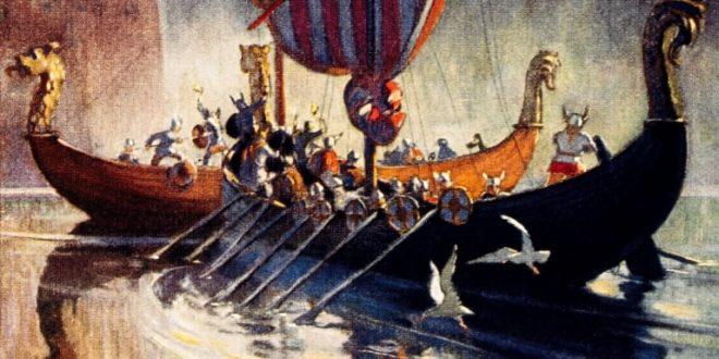 تنصّر الفايكينغ، الفايكينغ قراصنة دمويون وبناة سفن بارعون بقلم د. ايلي مخول