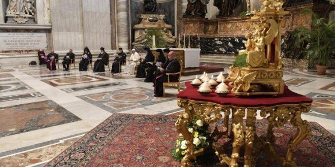 """يوم تأمل وصلاة من أجل لبنان. رسالة البابا فرنسيس في ختام الصلاة المسكونية """"لَدَى الله أفكارُ سَلام. معًا مِن أجْلِ لبنان"""""""